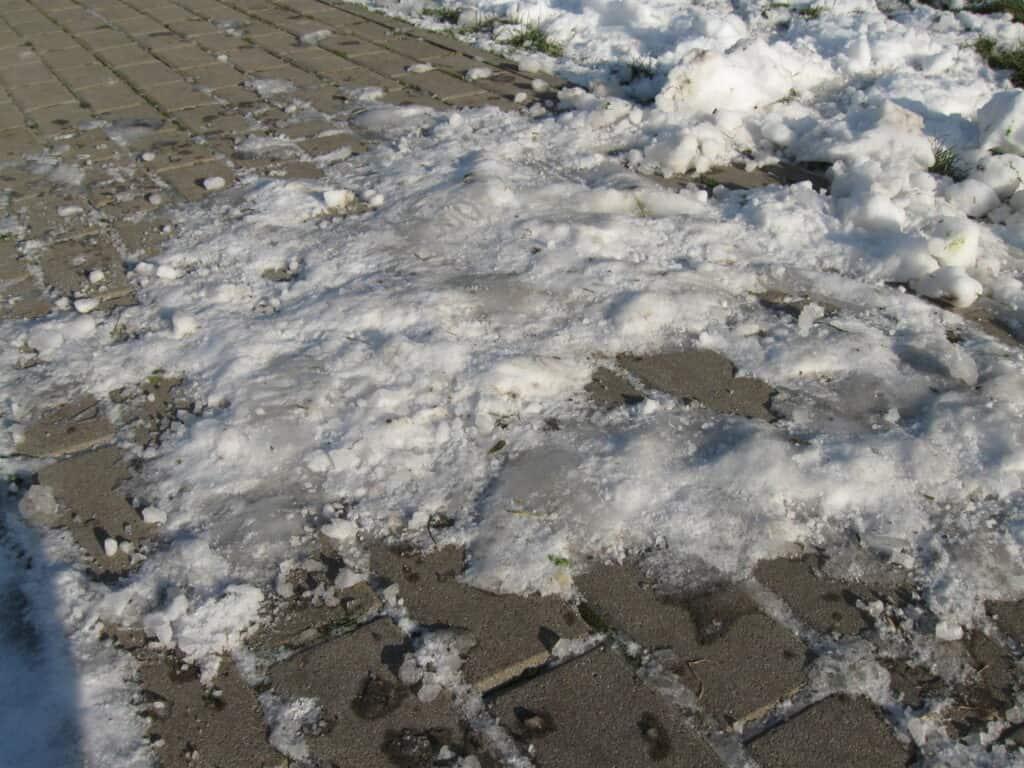 Zadeptany snieg
